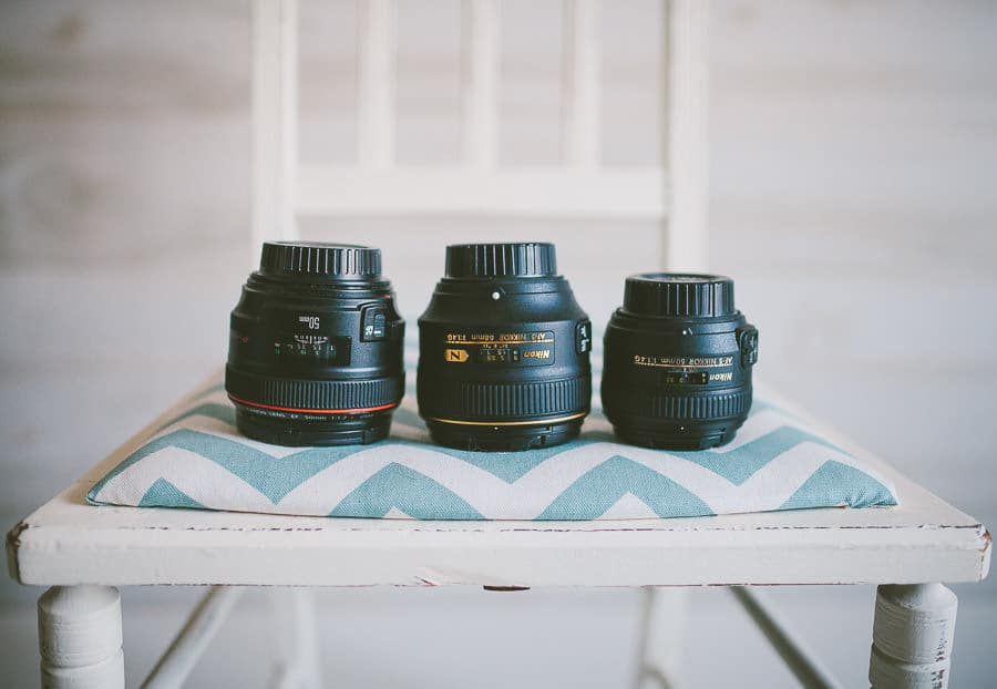 Nikon 58mm 1.4G Lens size comparison for Shotkit