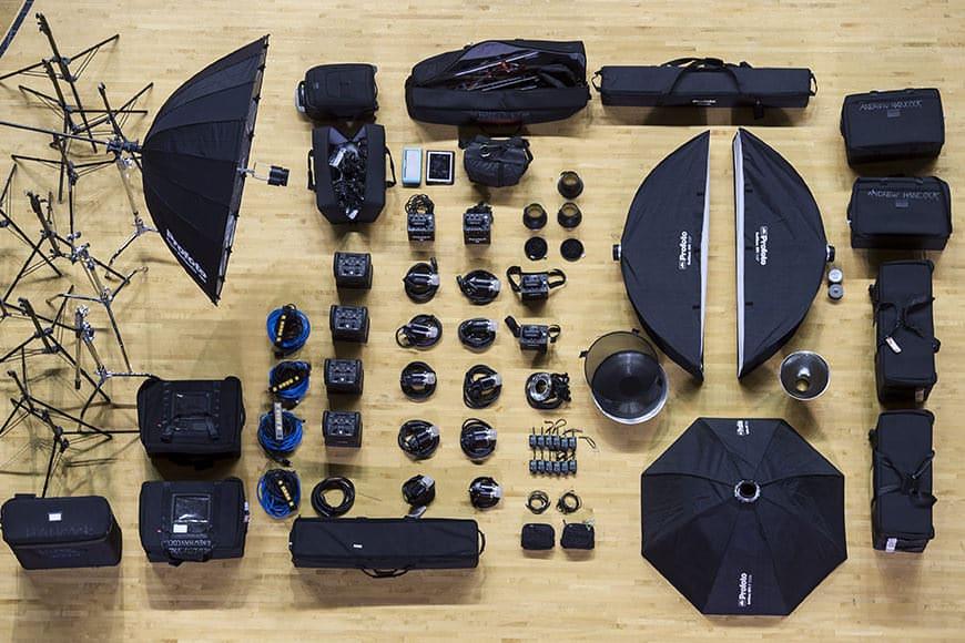 Andrew Hancock camera gear