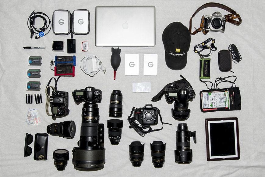 Andrew Hancock camera equipment