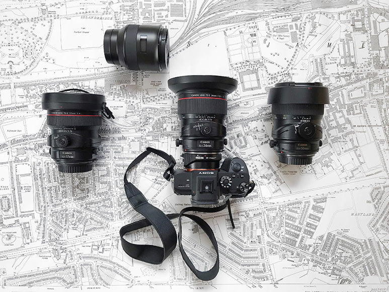 architecture photographers camera gear
