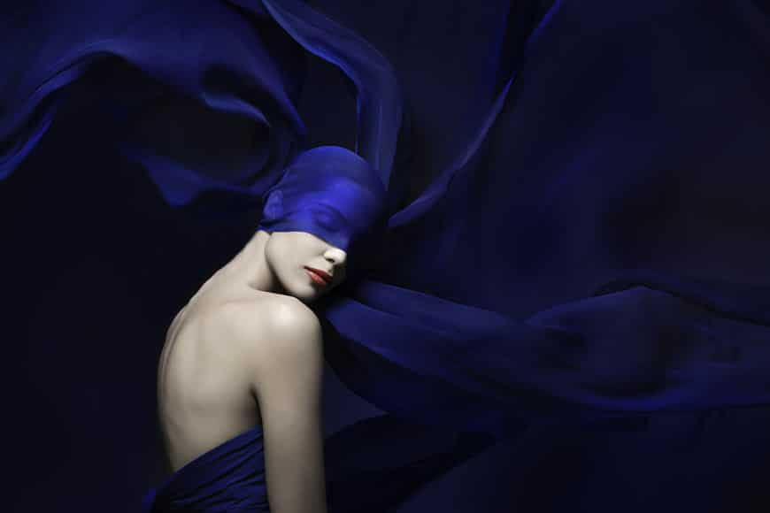 Royal Blue Fashion Photography Editorial by Lindsay Adler