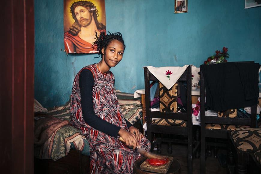 Bethlehem Temsgen's House, Adma Bridge, Ethiopia