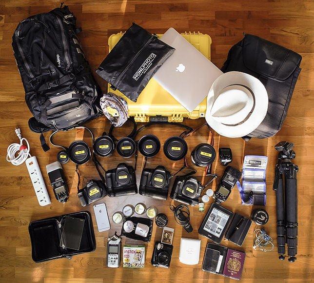 Gavin Gough's Camera Gear