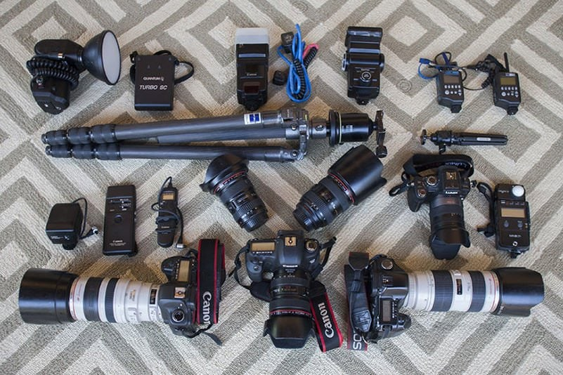 Peter Menzel basic camera and flash kit
