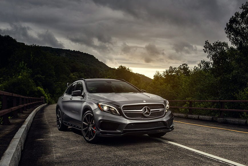 Automobile photographer Andrew Link uses a Sony a7R mirrorless camera with a Metabones IV adapter to mount Canon L series lenses.