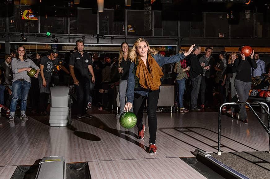 Bowling Night - Credit: Walter van Dusen
