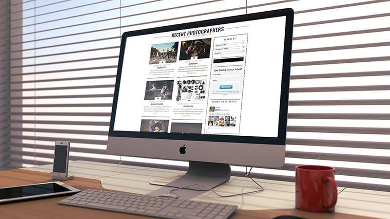 iMac Template