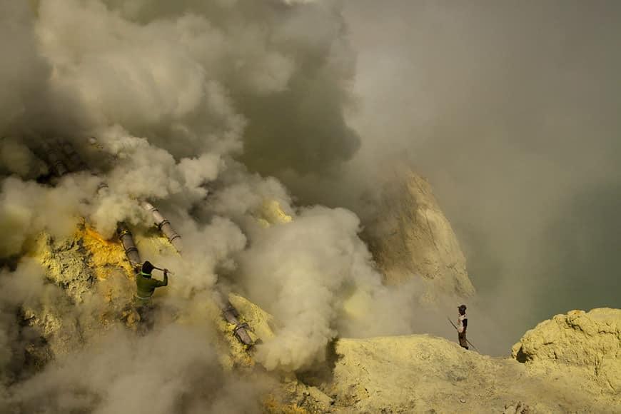poisonous smoke