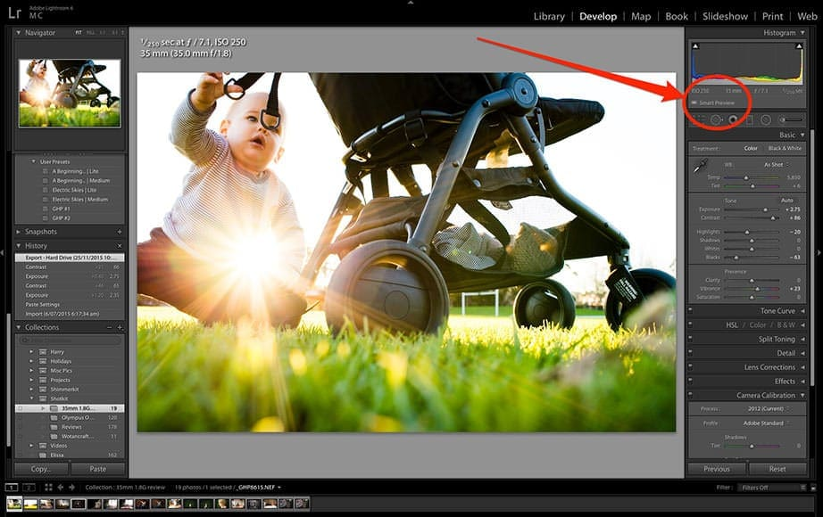 How to Speed up Lightroom with Smart Previews