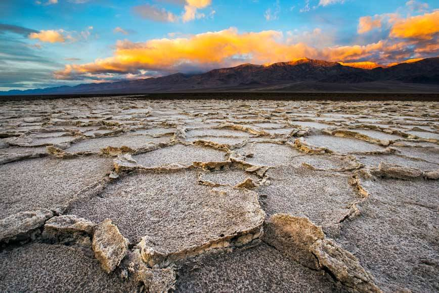Sunrise On The West Side Road | Death Valley National Park