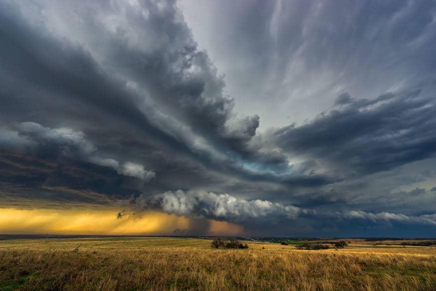Approaching Storm | Ninnekah, Oklahoma