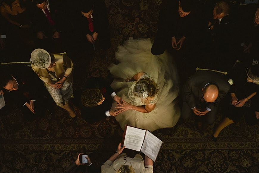 Wedding Ceremony at Middleton Lodge