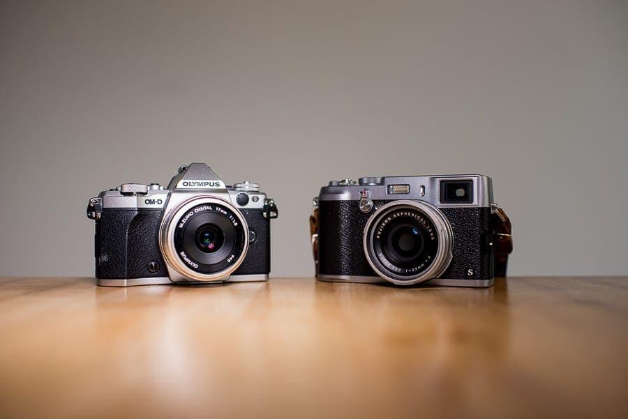 olympus om-d e-m5 mark ii vs Fujifilm X100s