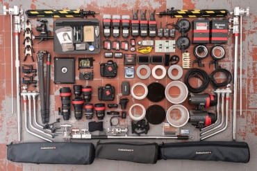 commercial photographer camera gear