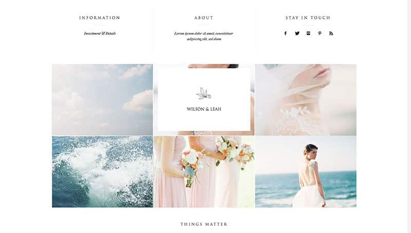 Recommended WordPress theme for photographers