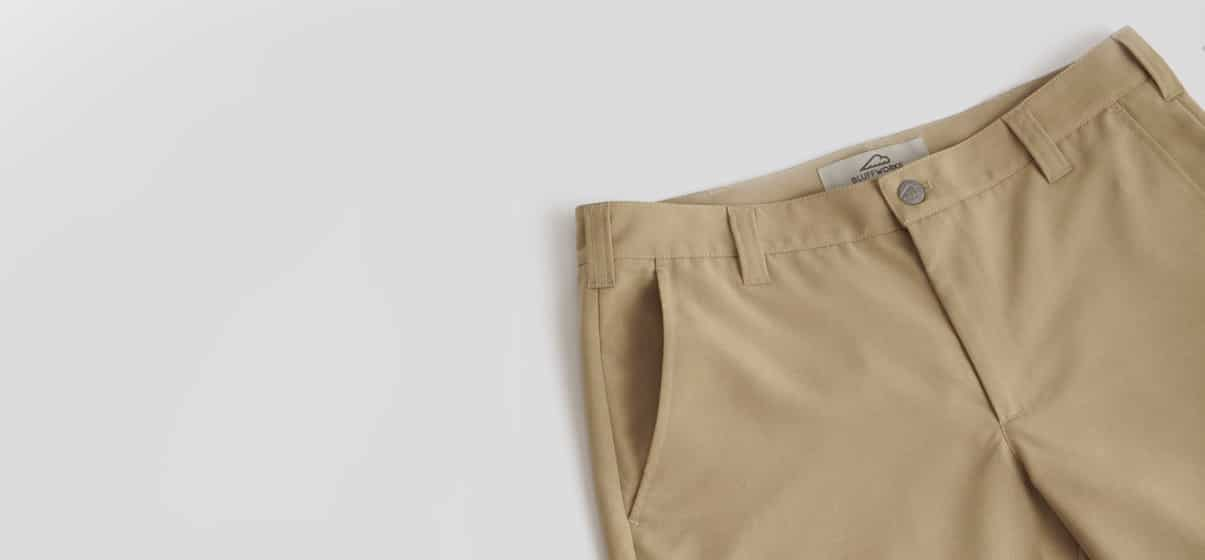 Bluffworks khaki review - best clothing for photographers