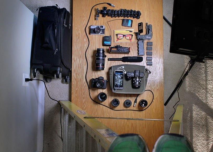 photojournalist camera gear