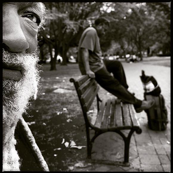 Elijah Natureboy in Washington DC.  photo by Mike Kepka