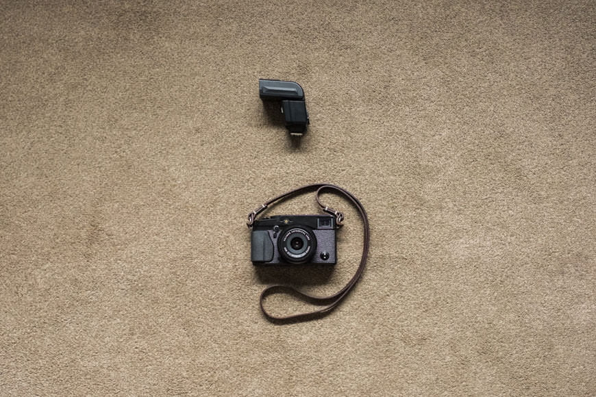 The minimalist camera gear of wedding photographer Ian Weldon.