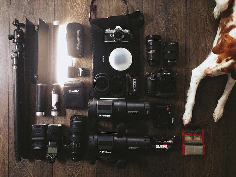 Kelsey Goodwin camera gear