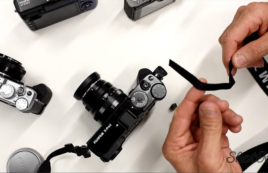 How to Attach a Camera Strap - the Best way to do it!