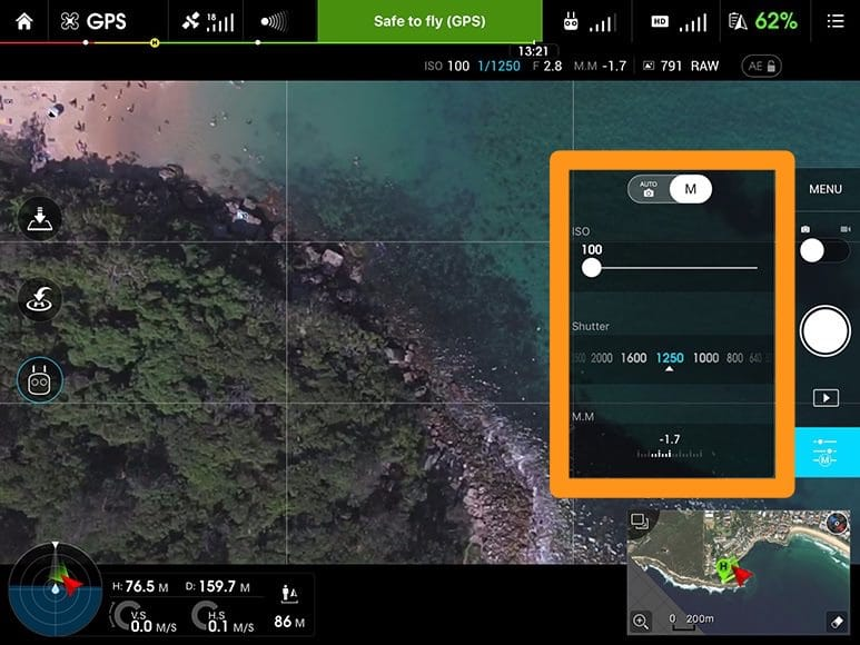 DJI Phantom drone for photography