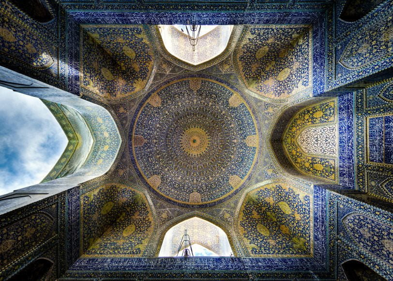 Shah (Imam) mosque, Isfahan re edited