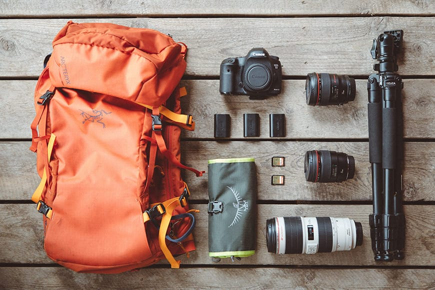 lifestyle photographer camera gear
