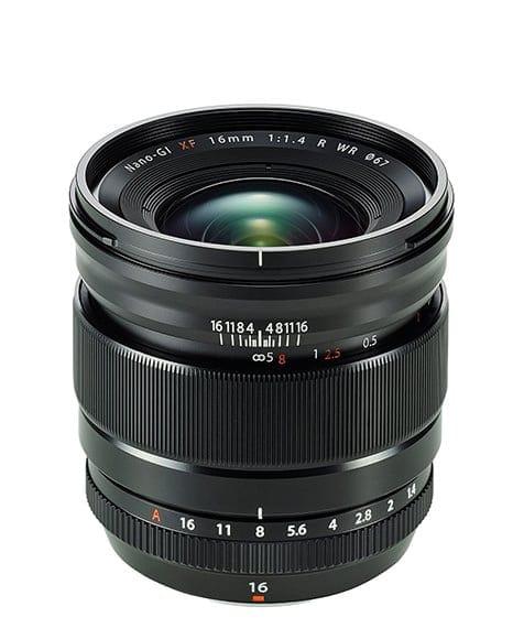 Best Fuji Lenses - Fuji 16mm f/1.4