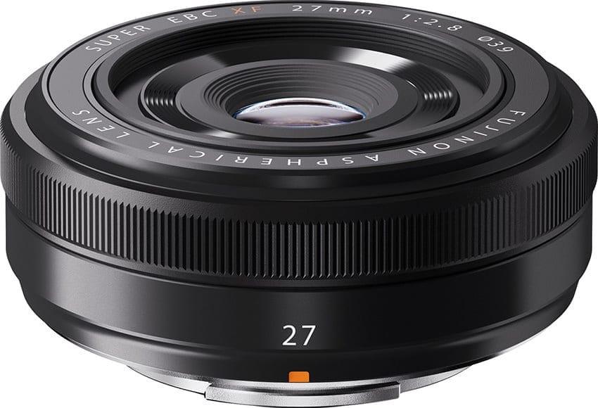 Fuji lens 27mm f/2.8