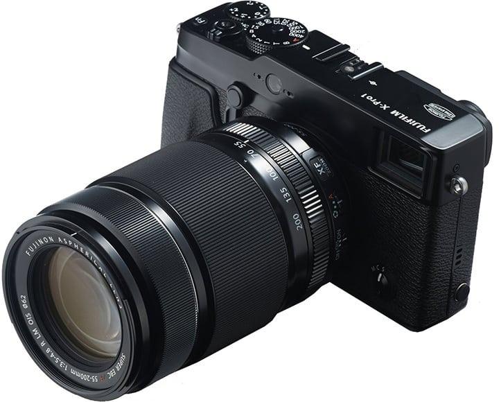 Fuji 55-200mm lens
