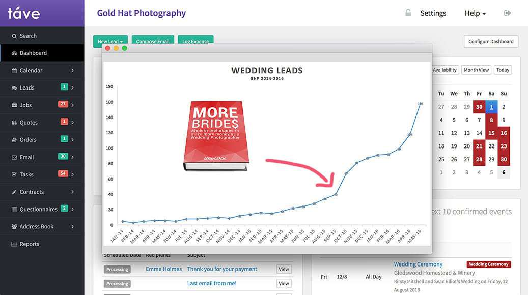 how to book more weddings