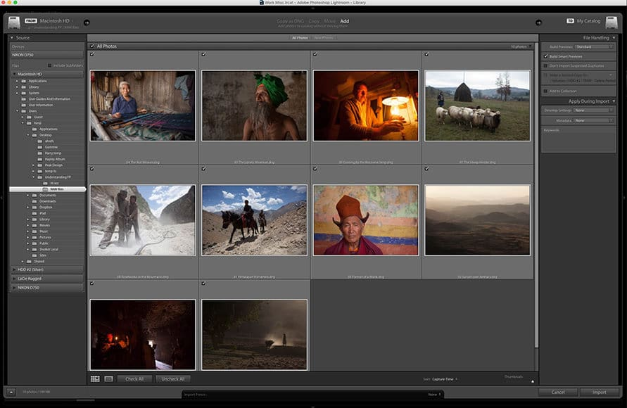 How to use Lightroom