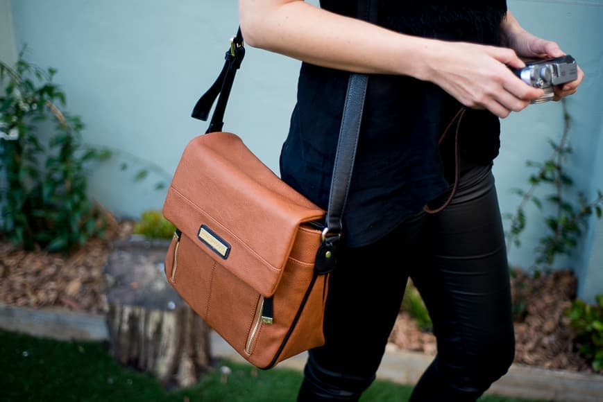 stylish camera bag for women