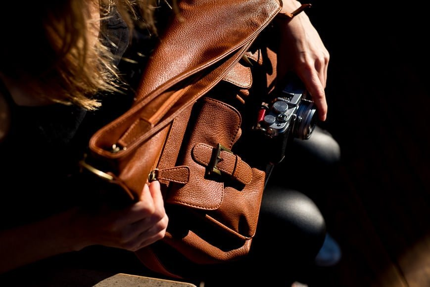 female camera bag review