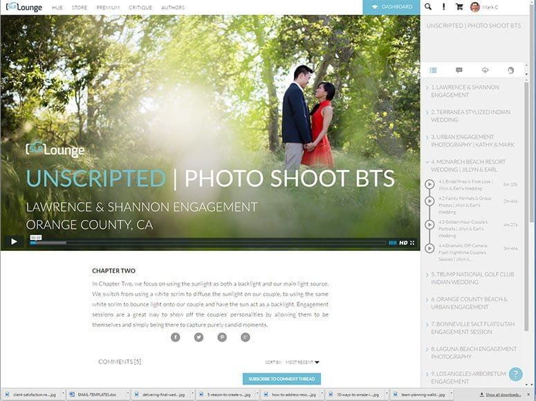 wedding photography tutorial videos