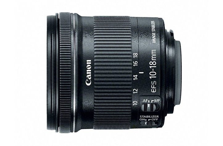 Canon 10-18mm f/4.5-5.6 IS