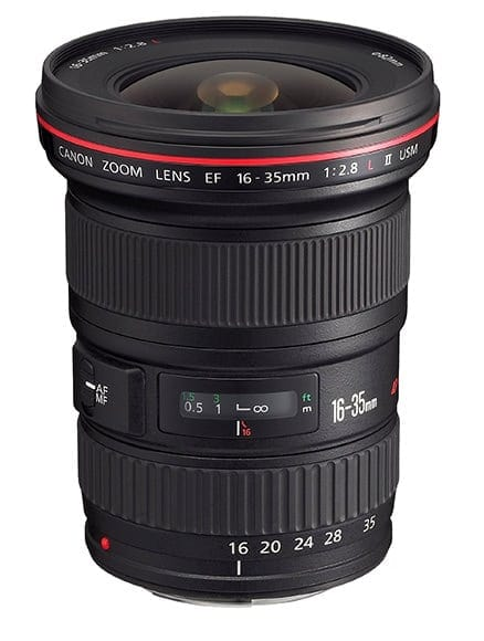 Canon 16-35mm f:2.8 L II