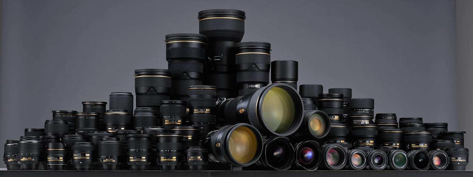 Nikon lens line up