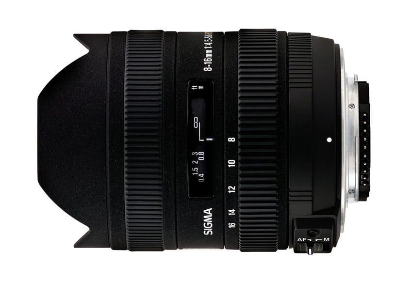 Sigma 8-16mm f/4.5-5.6 DC