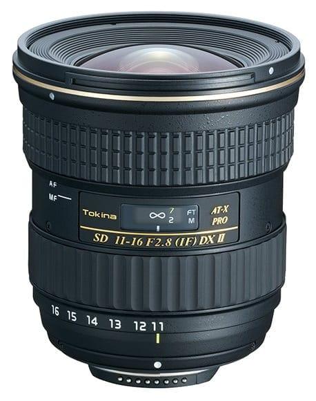 Tokina 11-16mm f/2.8 AT II