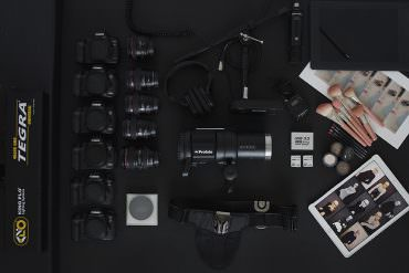 fashion photographer camera gear