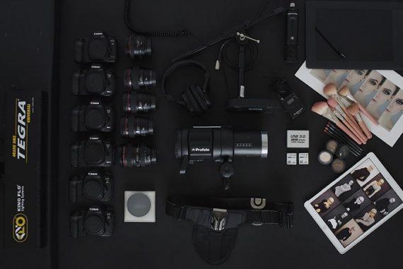 fashion photographer camera gear