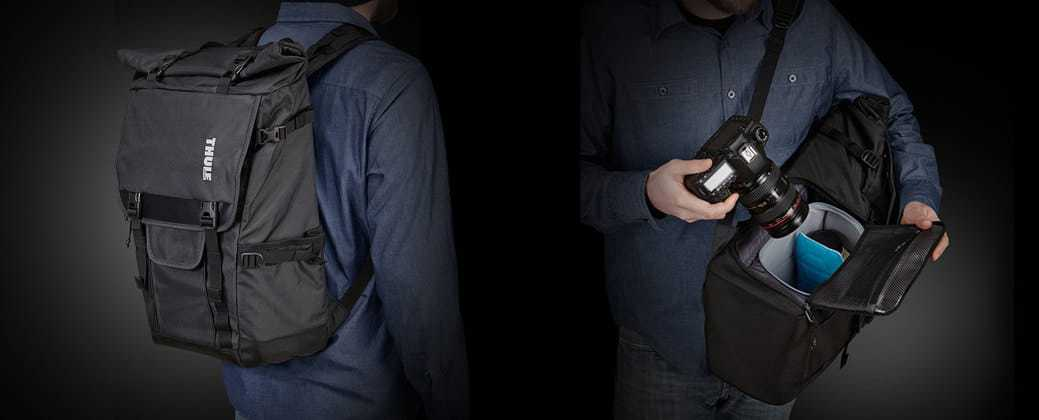 thule dslr backpack