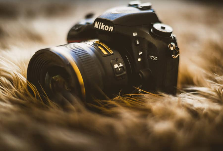 Nikon D750 full frame sensor great iso range 61 af points