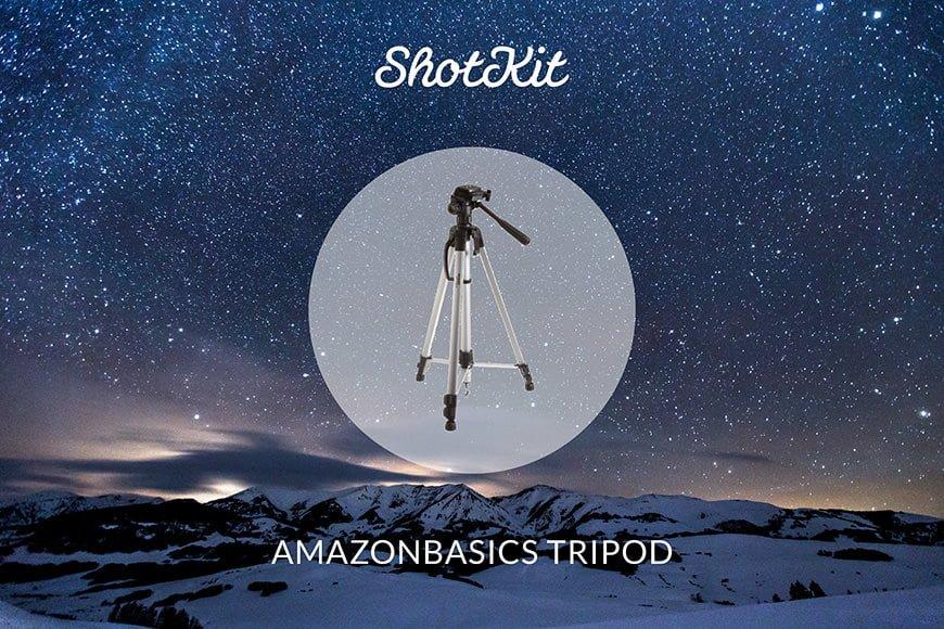 Best Travel Tripods - AmazonBasics LIGHTWEIGHT