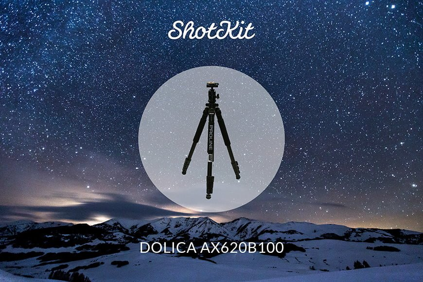 Dolica AX620B100 best tripod travel option with multiple leg sections and center column