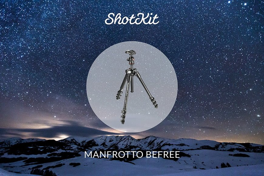 Best Travel Tripods - Manfrotto BeFree
