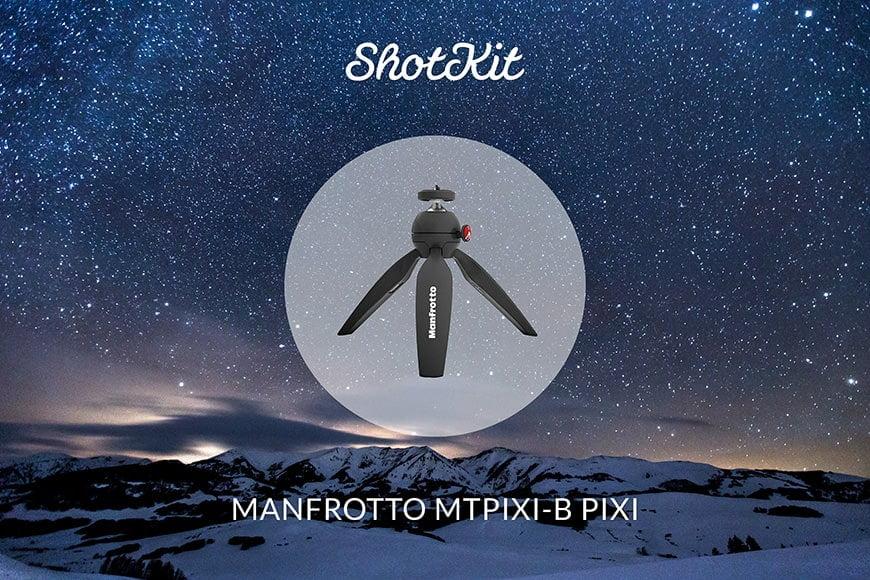 Best Travel Tripods - Manfrotto MTPIXI-B PIXI