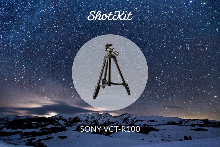 Best Travel Tripods - Sony VCT-R100